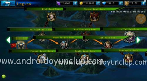 leagueofunderworldmodapk