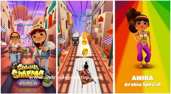 Скачать Subway Surfers v Arabia (взломанная версия) на андроид бесплатно